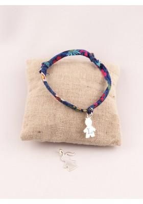 Bracelet Liberty Ajustable personnage Gravé