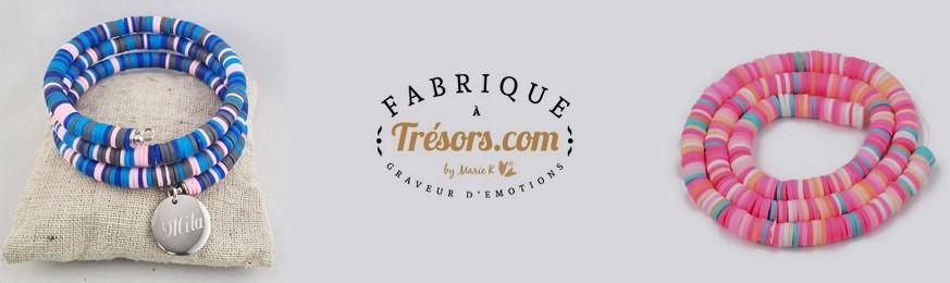 Bijoux Perles Heishi